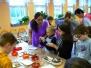 Advent ve školní jídelně